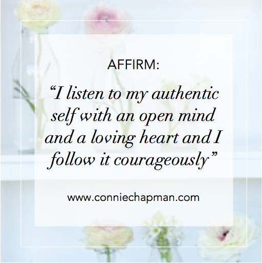 Authentic Self Affirmation Card