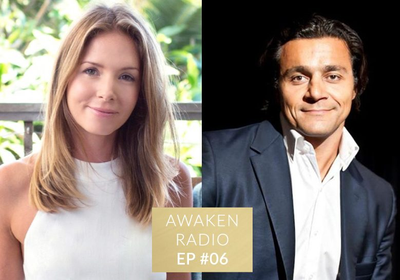 Connie Chapman Awaken Radio Podcast Episode #06 Living Intuitively with Amir Zoghi